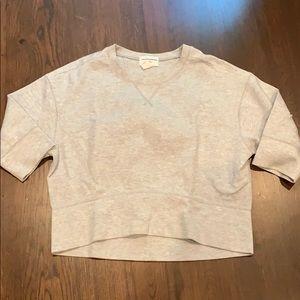 Jcrew/Juan Carlos Obsndo gray cropped sweatshirt3